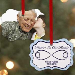 Sympathy Gift Photo Ornament