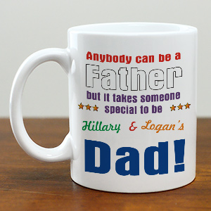 Anybody Can Be Dad Coffee Mug