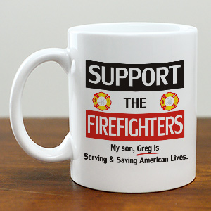 support the Firefighters Mug