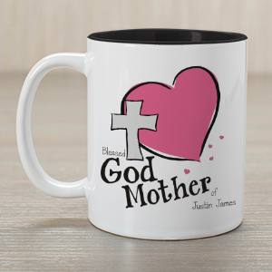 Personalized Godmother Of Two-Tone Mug