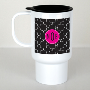 Monogram Madness Travel Mug