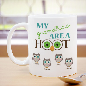 Personalized Are A Hoot Coffee Mug