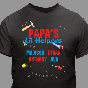 Personalized Lil' Helpers T-Shirt
