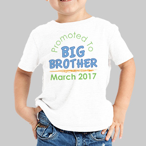 Personalized Big Brother T-Shirt