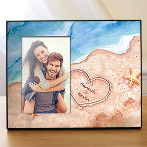 Personalized Shores Of Love Frame