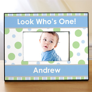 1st Birthday Personalized Printed Picture Frame