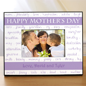 Personalized Mother's Day Printed Photo Frame