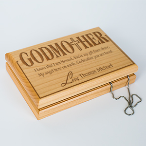 Godmother Personalized Valet Box