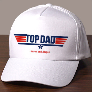 Personalized Top Dad Hat
