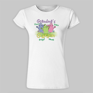 Garden Womens Fitted T-Shirt