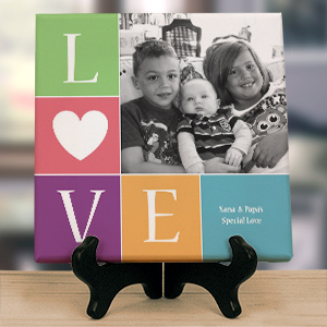 Personalized Love Photo Canvas