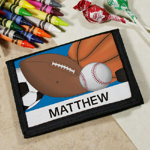 Custom Printed Sports Wallet
