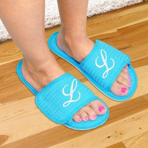 Embroidered Spa Slippers
