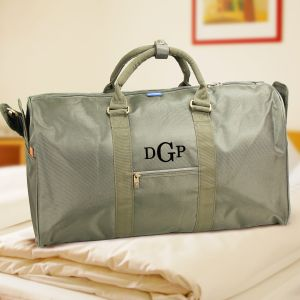 Personalized Monogram Duffel Bag