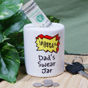 Personalized Swear Jar