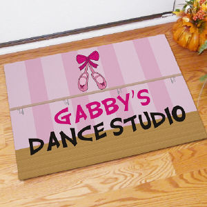 Personalized Dance Studio Doormat