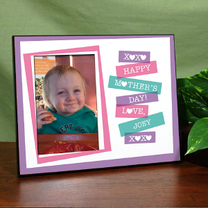Happy Mother's Day Printed Frame