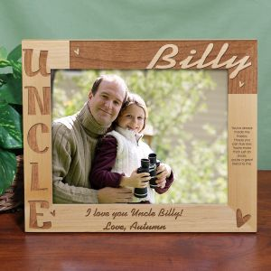 Personalized Uncle Photo Frame - 8x10