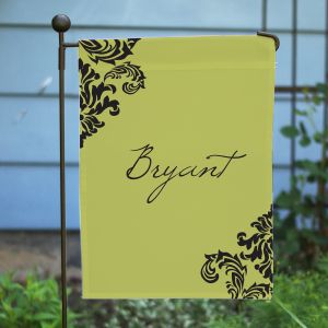 Personalized Family Welcome Garden Flag
