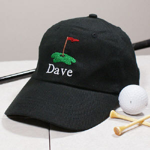 Embroidered Golf Hat