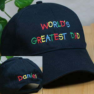 greatest dad hat