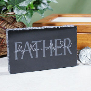 Fathers Day Personalized Marble Keepsake