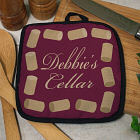 Personalized Wine Corks Pot Holder U618542
