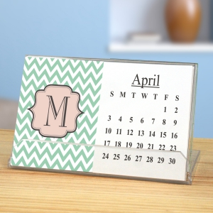 Chevron Desk Calendar