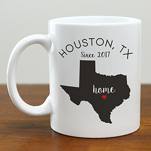 Personalized Home State Mug