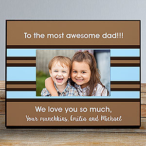 Custom Message Printed Frame