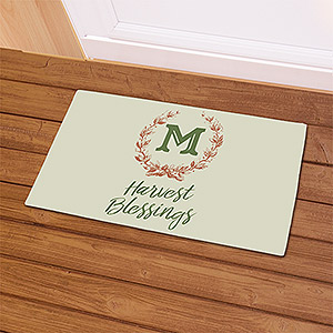 Harvest Blessings Doormat