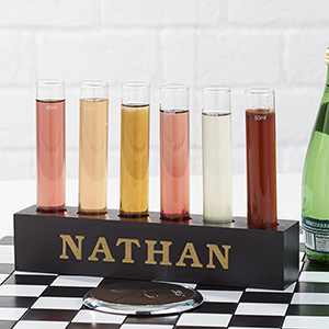 Engraved Chemistry Bar Shooter Set
