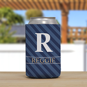 Personalized Name and Initial Koozie
