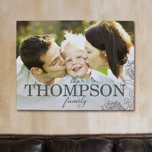 Personalized Family Photo Wall Canvas
