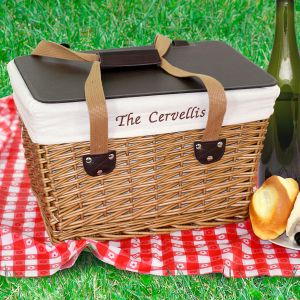 Custom Picnic Basket