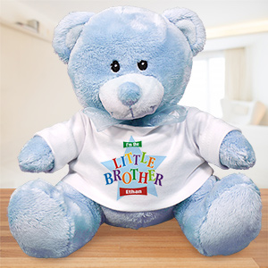 Personalized Big Brother Teddy Bear - Star Design