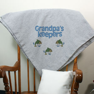 Personalized Keepers Fleece Blanket