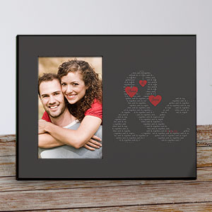 Couple's Love Personalized Picture Frame