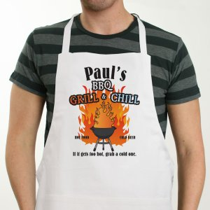Grill & Chill Personalized Apron