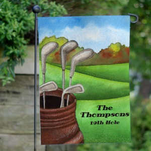 Personalized Golf Garden Flag
