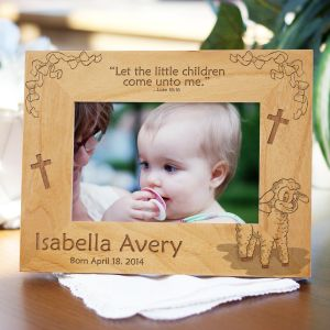 personalized baby picture frames canvas prints