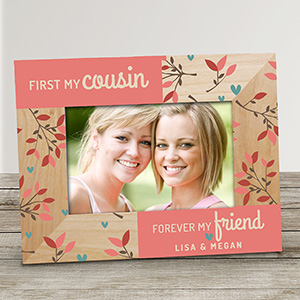 Personalized Forever Friend Wood Frame