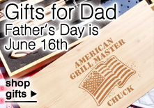 Gifts for Dad - Fathers Day is June 16, 2013