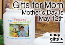 Gifts for Mom - Mothers Day is May 12, 2013