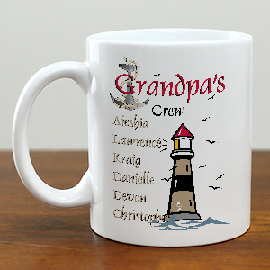 Crew Personalized Coffee Mug