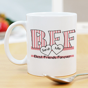 BFF Ceramic coffee Mug