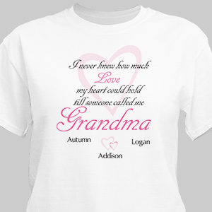 How Much Love Personalized T-shirt