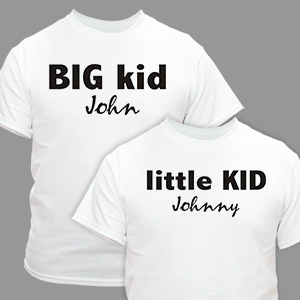 Big and Little shirts