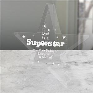 Personalized SuperStar Keepsake