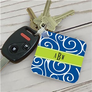 Monogram Madness Key Chain
